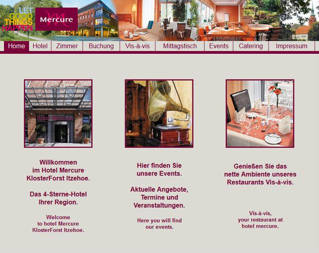 Referenzen branche tourismus webdesign internetagentur edv for Designhotel rendsburg